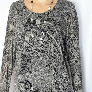Chico's Long Sleeves Blouse Size 2